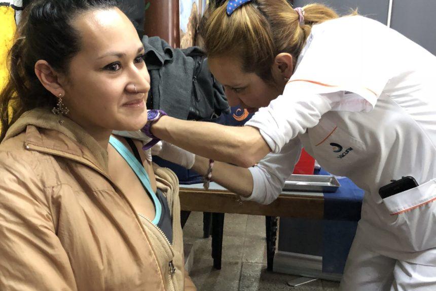 """Jornada de vacunación en el centro de jubilados """"El Quincho"""""""